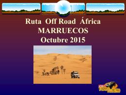 Ruta Off Road Africa