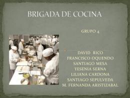 BRIGADA DE COCINA