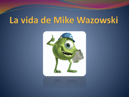 La vida de Mike Wazowski, imagenes