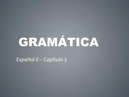 Gramática - La clase de la señora Clark