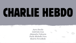 Je suis Charlie - CommunicationAndGlobalization