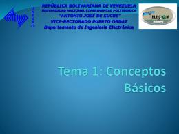 Tema Nº 1 - Sistemas de Comunicaciones Electrónicas y sus Areas