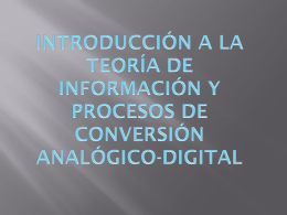 SEÑALES ANALÓGICAS Y DIGITALES ANALÓGICAS DIGITALES