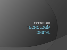 TECNOLOGÍA DIGITAL - Instituto Bachiller Sabuco