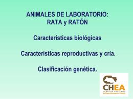 Importancia del control genético en animales de laboratorio