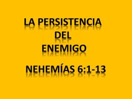 La persistencia del enemigo