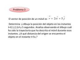 Vector de posición móvil:
