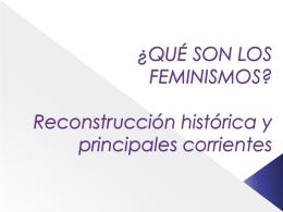 Mirar en violeta. Género y Feminismos en la