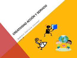 Creatividad acción y servicio