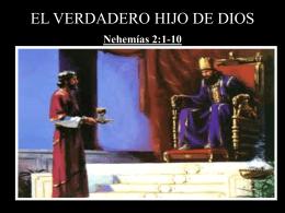 EL VERDADERO HIJO DE DIOS