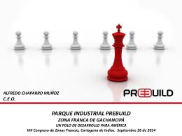 Parque Industrial Prebuild, Zona Franca de Gachancipá, Un