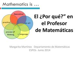 ¿Cómo aprender Matemáticas? - Universidad San Francisco de Quito