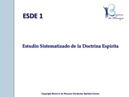 Slide 1 - Bezerra de Menezes Kardecian Spiritist Center
