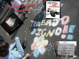 Presentación Trabajo Decente y Docencia. Tamara Madariaga