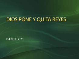 20140302 DIOS PONE Y QUITA REYES