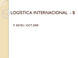 Presentación Logística internacional B