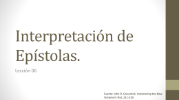 5 Interpretacion de Epistolas