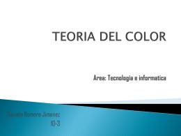 ¿Que es la Teoria del color?