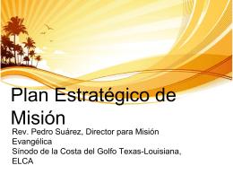 Plan Estratégico de Misión