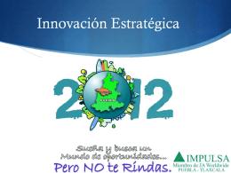 Estrategia *Océano Azul* - IMPULSA Puebla Tlaxcala