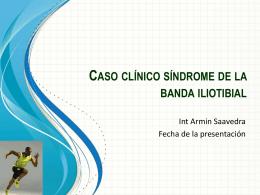 síndrome de la banda iliotibial