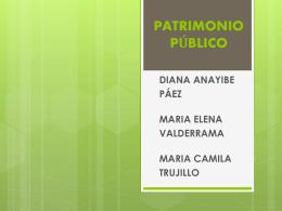 PATRIMONIO PUBLICO