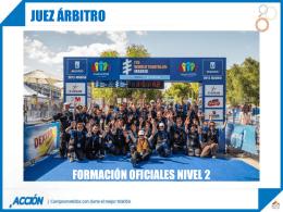 Juez Árbitro - Federación Española de Triatlón