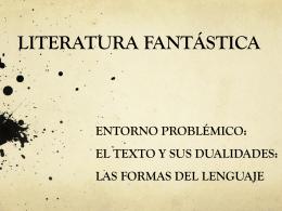 LITERATURA FANTÀSTICA