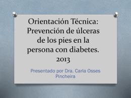 OT pie diabetico 2013