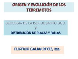 geologia de la isla de santo domingo