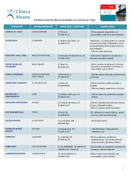 Diapositiva 1 - Clínicas Alsana