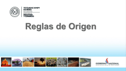 Reglas de Origen - Portal da Indústria