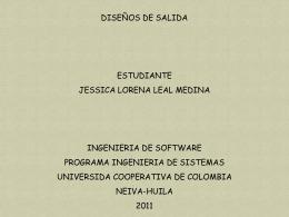 DISEÑO DE SALIDA