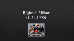 Regimen Militar 1973