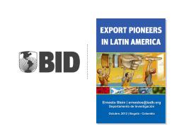 el sector floriculato colombiano:un caso de