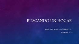 BUSCANDO UN HOGAR (880446)