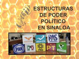 estructuras de poder político en sinaloa