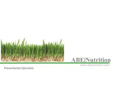 Diapositiva 1 - ABE|Nutrition