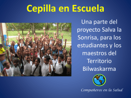 Cepilla en Escuela - Save Their Smiles