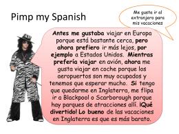 Pimp my Spanish - PHGS