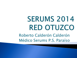 SERUMS Red Otuzco