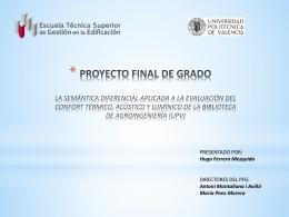 resultados y discusión - RiuNet - Universidad Politécnica de Valencia