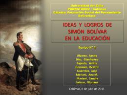 Simón Bolívar - WordPress.com