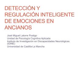 Detección y regulación inteligente de emociones en ancianos