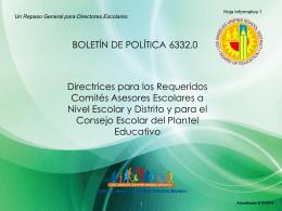 Comité Asesor para Aprendices de Inglés (ELAC)