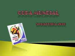 COPA MUNDIAL - WordPress.com