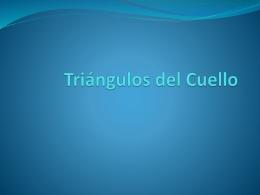 Triángulos del Cuello