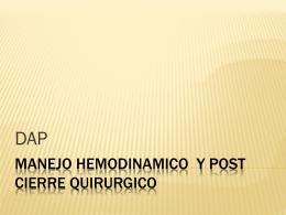 MANEJO_HEMODINAMICO _Y_POST_CIERRE_QUIRURGICO