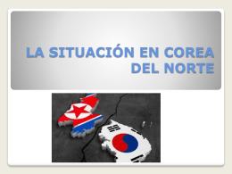 Situación en Corea del Norte
