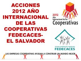Ver presentación - Alianza Cooperativa Internacional en las Américas